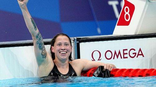Erste Medaille seit 2008: Schwimmerin Sarah Köhler holt Bronze bei Olympia 2021