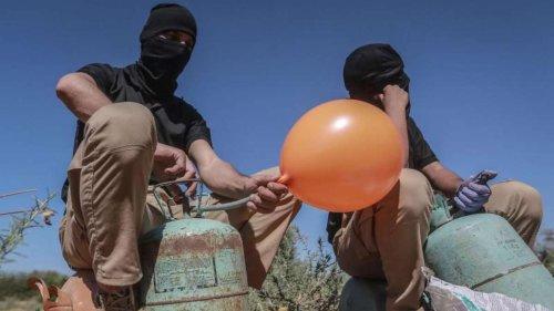 """""""Reaktion auf Brandballons"""": Israel attackiert Ziele im Gazastreifen"""