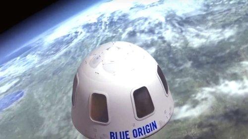 Jeff Bezos' Flug ins Weltall: Mysteriöser Millionär zahlt 28 Millionen für 10-Minuten-Trip
