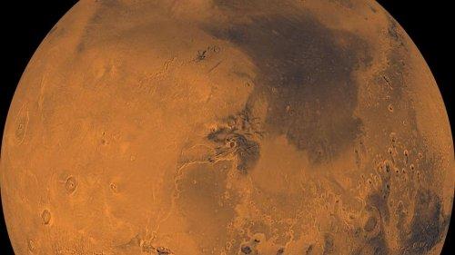 Nasa nennt Details zur Strahlung auf dem Mars
