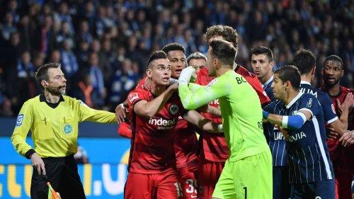 Eintracht Frankfurt verliert emotionales Spiel in Bochum - und rutscht in Tabellenkeller
