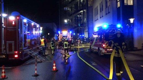 Schwerer Brand auf Intensivstation der Uniklinik Gießen: Patienten verletzt