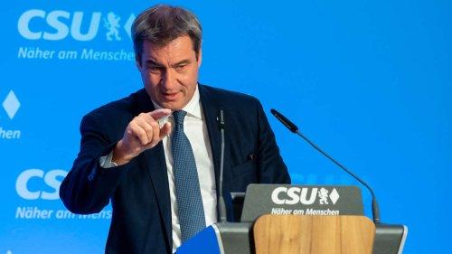 """Söder stichelt erneut gegen Laschet: """"Manch einer macht die Fehler immer wieder"""""""