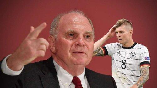 Uli Hoeneß rechnet mit Toni Kroos ab – der kontert sofort