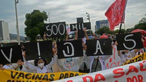 Brazil passes grim milestone of 500,000 Covid-19 deaths