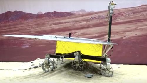 La Chine réussit à poser un robot sur Mars, une première