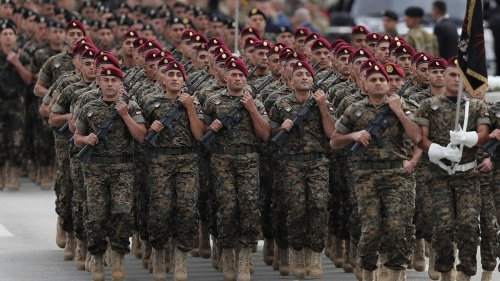Lebanese army pleads for help as country grapples with financial crisis