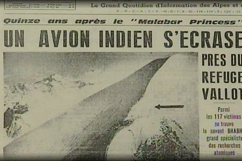 La ville de Chamonix va toucher une partie du trésor des Bossons, probable vestige du crash du Boeing d'Air India