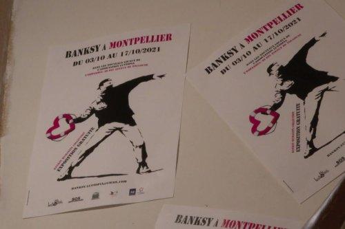 Montpellier : l'exposition Banksy récolte 32.000 euros pour l'association d'aide aux migrants en mer SOS Méditerranée