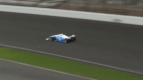 Formule 1 : une course de voitures sans pilote sur le circuit d'Indianapolis