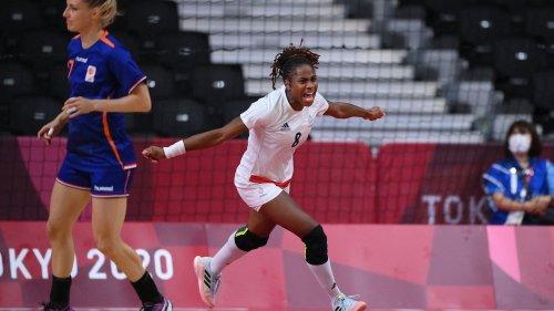 JO 2021 - Handball féminin : revivez l'éclatante victoire de la France face aux Pays-Bas en quarts de finale