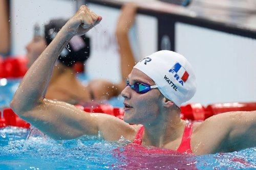 Lille : la nageuse Marie Wattel pulvérise le record du 100m papillon en demi-finales des Jeux Olympiques
