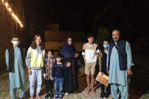 """""""On est tellement heureux d'être ici ! """" Témoignage d'une famille afghane de retour à Rennes"""