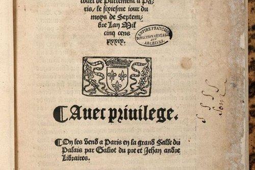 L'histoire du dimanche. L'ordonnance de Villers-Cotterêts de 1539 ou le mythe de l'unification linguistique de la France