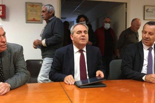Hérault : visite de Xavier Bertrand à La Grande-Motte et à Vendargues