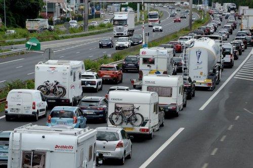 Chassé-croisé de l'été : un deuxième weekend très dense sur l'A10 aux abords d'Orléans