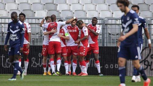 Ligue 1 - 33e journée : revivez la nette victoire de Monaco sur la pelouse de Bordeaux