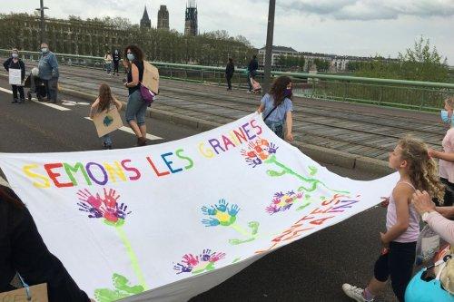 Caen et Rouen marchent pour le climat