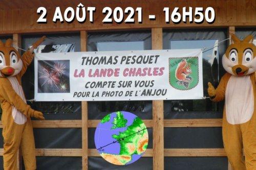 La Lande-Chasles : la plus petite commune du Maine-et-Loire espère se faire repérer par Thomas Pesquet depuis l'espace
