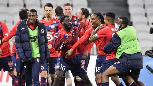 Ligue 1 : Lille a son destin en main, le PSG en embuscade, Lyon distancé... Le point sur la course au titre à quatre journées de la fin