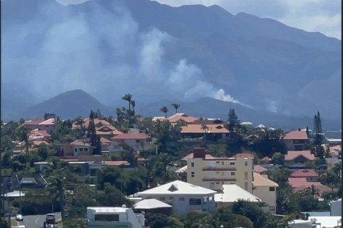 Un incendie en cours au Mont-Dore - Nouvelle-Calédonie la 1ère