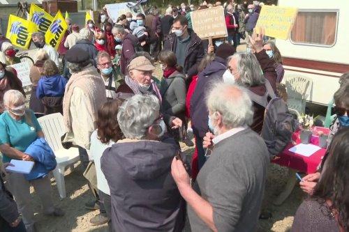 Morbihan : après une semaine de grève de la faim, Eugène Riguidel a perdu 8 kilos mais reste déterminé