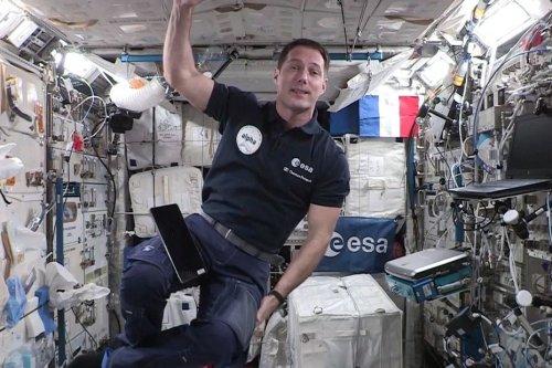 Espace : Thomas Pesquet poste des photos de la Loire, d'Orléans et de Tours prises de la station spatiale internationale