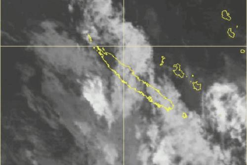 Météo : 7 communes placées en vigilance orange fortes pluies et orages - Nouvelle-Calédonie la 1ère