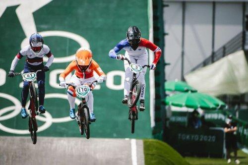 JO 2021 : la Guadeloupéenne Axelle Etienne 7e de la finale du BMX à Tokyo - Outre-mer la 1ère