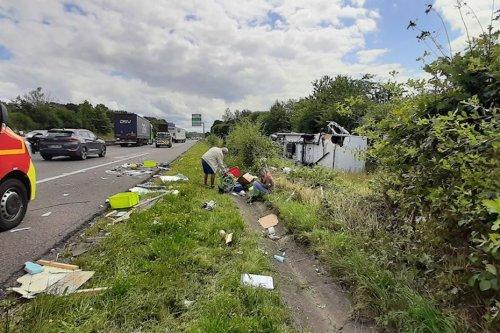 Limoges : perturbations à prévoir sur l'autoroute A20 après un accident impliquant un camping-car