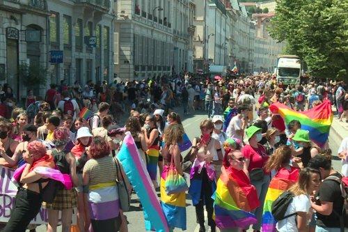 Pride de Lyon : 15 000 participants à la Marche des fiertés dans la capitale des Gaules
