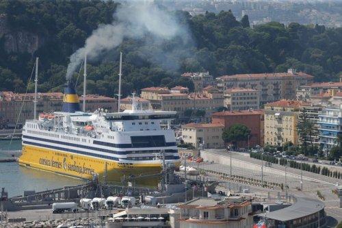 La métropole niçoise souhaite interrompre les liaisons de ferry entre Nice et la Corse