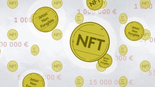 """VIDEO. Tout comprendre aux """"NFT"""", ces jetons virtuels qui se vendent plusieurs millions d'euros"""