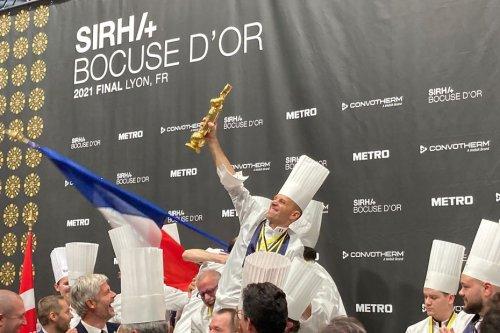 Bocuse d'Or à Lyon : Le chef Davy Tissot et l'équipe de France remportent la médaille d'Or