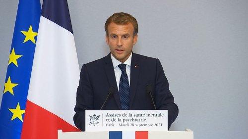 Les consultations de psychologues seront remboursées sur prescription médicale à partir de 2022, annonce Emmanuel Macron
