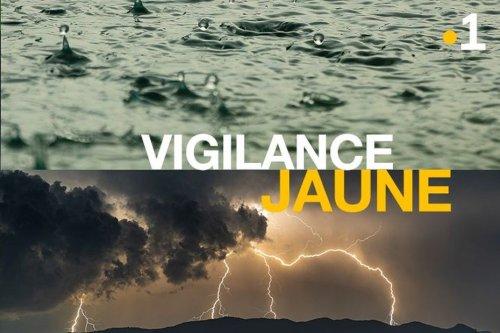 La Martinique repasse en vigilance jaune pour fortes pluies et orages - Martinique la 1ère