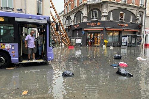 """Orage à Reims : troisième inondation en moins de deux semaines avenue Jean Jaurès, """"on n'en peut plus"""""""
