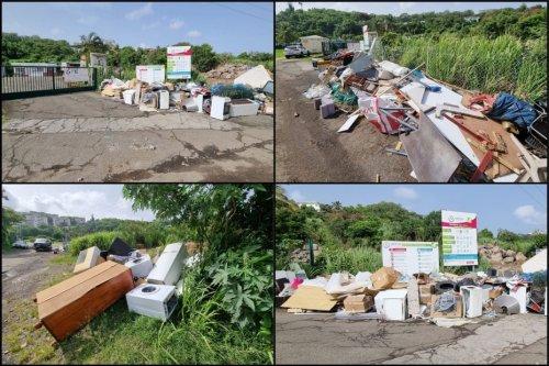 La grève se poursuit au SMTVD alors que les poubelles débordent déjà - Martinique la 1ère