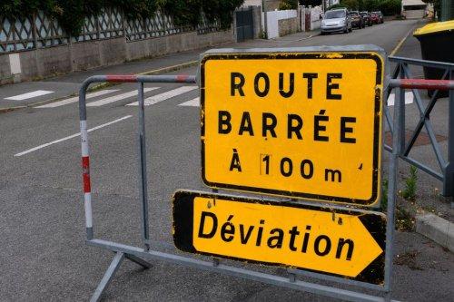 Isère : route coupée près de Saint-Marcellin suite à un feu d'habitation