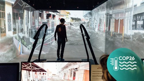 """#MontéeDesEaux : des chercheurs ont mis au point une simulation en réalité virtuelle pour """"rendre les choses concrètes"""" et alerter les villes côtières"""