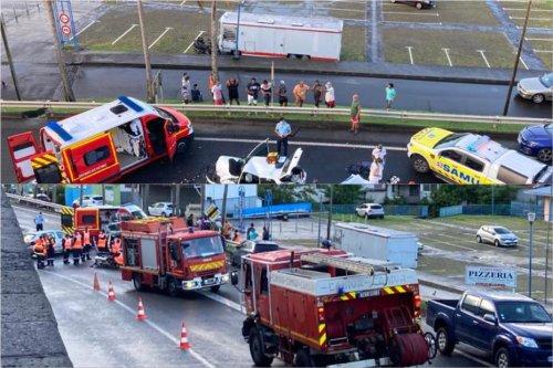 Accidents en série en Martinique : 1 mort au Vauclin et 3 blessés à Sainte-Luce - Martinique la 1ère