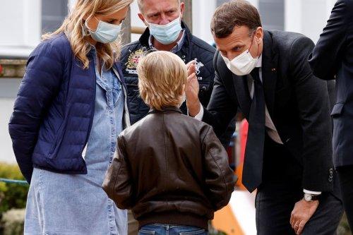 Reims : Emmanuel Macron rencontre des ados déprimés et des psychiatres débordés au CHU