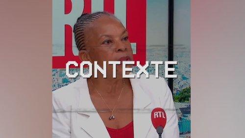"""VIDEO. """"Je n 'ai pas vocation à appeler à la vaccination"""", dit Christiane Taubira : sa phrase remise dans son contexte"""