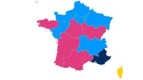 CARTE. Résultats des élections régionales : Bertrand, Wauquiez et Pécresse loin devant, Mariani domine Muselier, Delga en pole position... Découvrez qui est en tête dans votre région