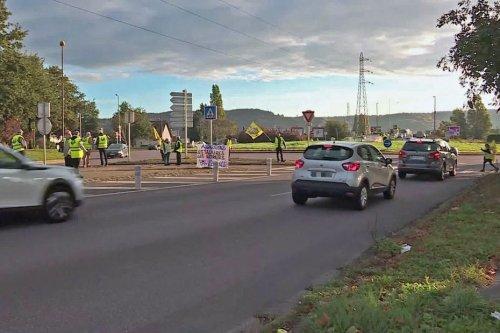 Le retour des gilets jaunes dans les rues de Rouen