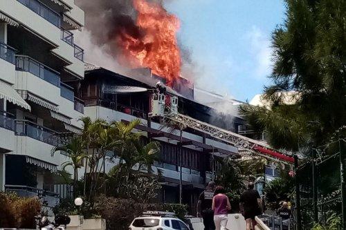 Nouméa : incendie à la Baie-des-Citrons - Nouvelle-Calédonie la 1ère