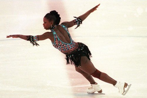 Archives d'Outre–mer -1991 : Surya Bonaly décroche l'or aux Championnats d'Europe de patinage artistique - Outre-mer la 1ère