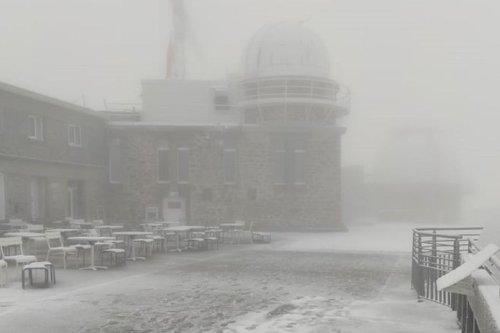 Météo : la neige est de retour sur les Pyrénées un jour avant l'équinoxe d'automne