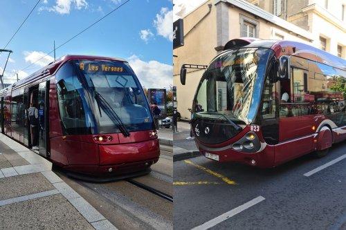 A Clermont-Ferrand, bus et tram bientôt gratuits le week-end