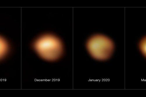 """VIDEOS. Une découverte historique, """"le déclin de l'étoile Bételgeuse"""" est résolu, des chercheurs niçois y ont participé"""